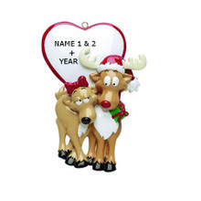 Rudolph & Me Be My Dear Personalized Ornament #248