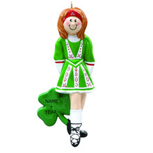 Rudolph & Me Irish Dancer Personalized Ornament #739