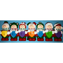 Rudolph & Me Personalized Christmas Lights Family of 7 #TT400-7