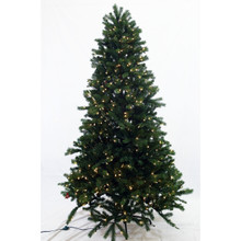 6.5ft Pre-Lit 'Real Feel' Colorado Spruce Tree in Warm White