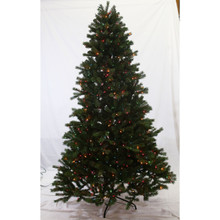 7.5ft Pre-Lit 'Real Feel' Colorado Spruce Tree in Multi