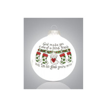 Heart Gifts by Teresa One of a Kind Friend Ornament #2195