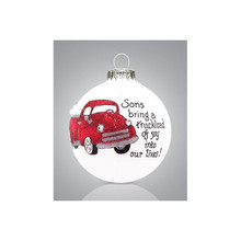 Heart Gifts by Teresa Son/Truck Ornament #2014