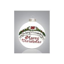 Heart Gifts by Teresa Friend Wonderful Ornament #2176