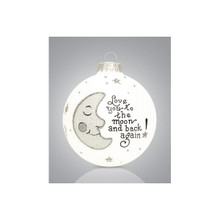 Heart Gifts by Teresa Love/Moon &Back Ornament #106-8