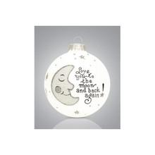 Heart Gifts by Teresa Love/Moon &Back Ornament #106-8