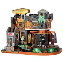 Lemax Village Collection Box-Of-Bones Coffin Factory #45669