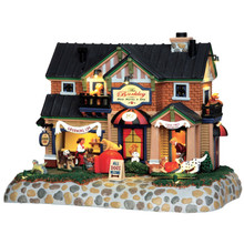 Lemax Village Collection The Barkley-Dog Hotel & Spa #45737