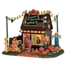 Lemax Village Collection Spooky Hollow Pumpkin Patch #54902