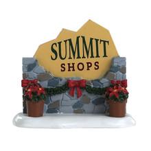 Lemax Village Collection Summit Sign #84364