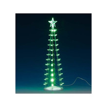 Lemax Village Collection Lighted Silhouette Tree, Green #84399