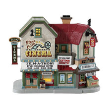 Lemax Village Collection Stone Creek Cinema #85332
