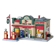Lemax Village Collection Ok Truck Stop, Set Of 2 #85333