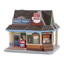 Lemax Village Collection Sweet Start Café #85348