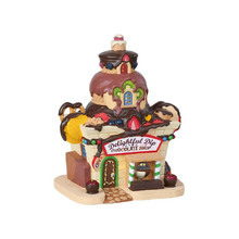 Lemax Village Collection Delightful Dip Chocolate Shop #85382