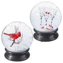RAZ Cardinal Wintery Water Globe #3500776