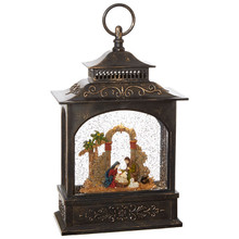 RAZ Nativity Lighted Water Lantern #3800796