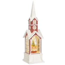 RAZ Children's Choir Lighted Water Church #3840514