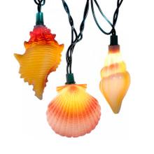 Kurt Adler Conch and Shells Light Set #UL1164