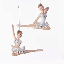 Kurt Adler Sitting Ballerina Ornament #C6779