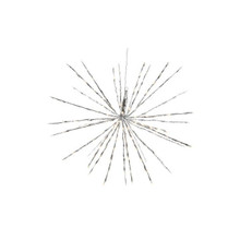 180L LED North Pole Star - Warm White, Silver Wire