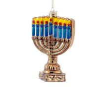 Kurt Adler Menorah Ornament #C1739