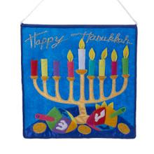 Kurt Adler Happy Hanukkah Sign #H5397