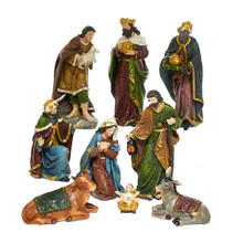 Kurt Adler 9- Piece Nativity Figure Set #N0290