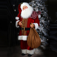 "Kurt Adler 72"" Red Elegant Santa # JK0165"