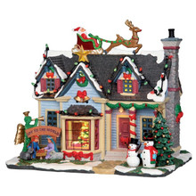 Lemax Village Collection Best Decorated House  #25337