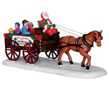 Lemax Santa's Wagon Ride #33032