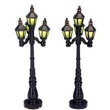 Lemax Village Collection Old English Street Lamp, set of 2 #34902