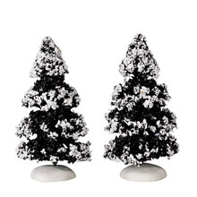 Lemax Village Collection Evergreen Tree Small, set of 2 #44234