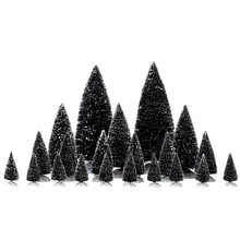 Lemax Village Collection Assorted Pine Trees, set of 21 #34968