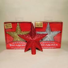 Kurt Adler Petite Treasures Glittered Star Treetop #H9766