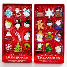 Kurt Adler Petite Treasures Mini Ornaments 12-piece Box #H9914