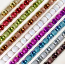Kurt Adler Small Shiny and Glittery Shatterproof Balls 18 Pieces #PL0622
