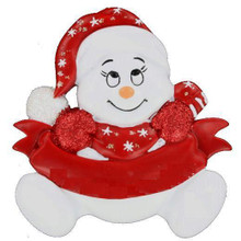 Rudolph and Me Snowbaby's First Christmas Personalized Ornament #122R