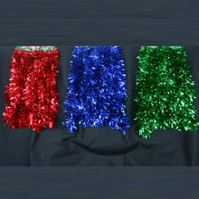 15ft Red / Blue / Green Wide Cut Garland # 5156-A2