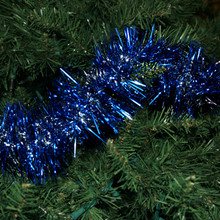 12' Silver Loop with Blue Needles # RS-H04