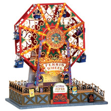 Lemax Village Collection Victorian Flyer Ferris Wheel #34618