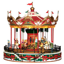 Lemax Village Collection Santa Carousel #34682