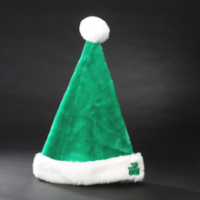 "Kurt Adler 17"" Plush Green Irish Santa Hat  #H2010"