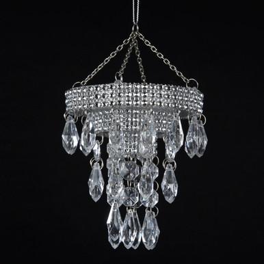 Kurt Adler Plastic Chandelier Ornament #T0807 - House of Holiday