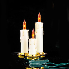 Kurt Adler 15/L Triple Candle Light Set #UL1681