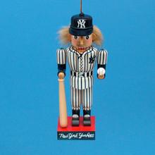 Kurt Adler 5in Yankees Baseball Nutcracker Ornament #MB0015YNK