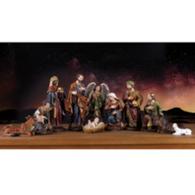 Nativity Set, 11-Pieces 11.5in #45501