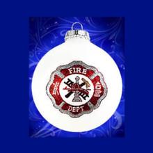 Heart Gifts by Teresa Fireman Shield Keepsake Ornament #182