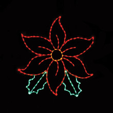 LED Poinsettia #LED-PT60