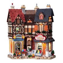 Lemax Village Collection Essex Corner Market #95893